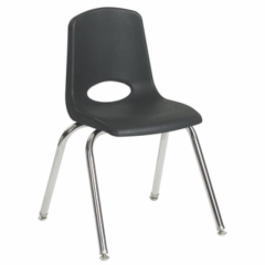 Rental store for Childrens Chair- Black Stack in St. Louis MO