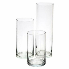 Rental store for Glass Cylinder Vase Trio Pkg in St. Louis MO