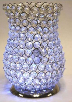 Rental store for Deluxe Diamond Hurricane Vase in St. Louis MO