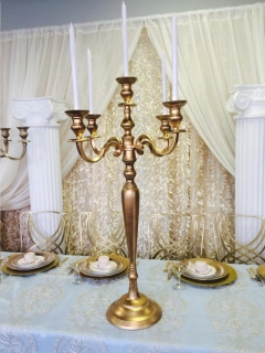 Rental store for Gold Candelabra 40 in St. Louis MO
