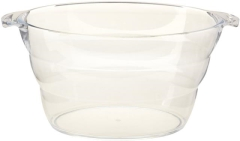 Rental store for Oval Lucite Ice Tub 16 x11 x9 in St. Louis MO