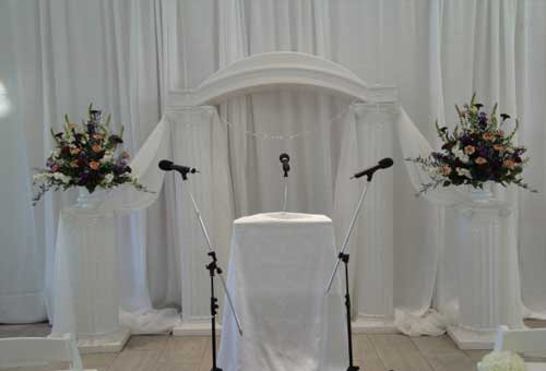 Rent Wedding Equipment